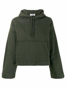 Acne Studios Joghy Emboss hoodie - Green