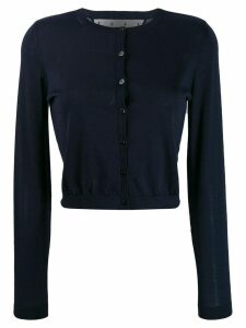 Red Valentino button-down cardigan - Blue
