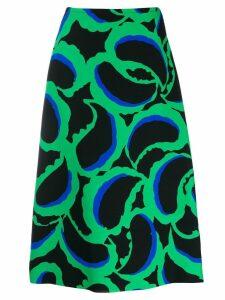 Marni printed skirt - Black