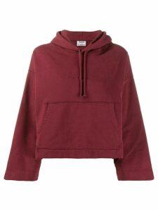 Acne Studios Joghy Emboss hoodie - Red