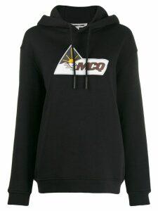 McQ Alexander McQueen oversized logo print hoodie - Black