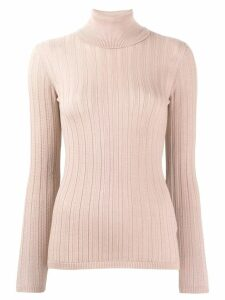 M Missoni ribbed knit jumper - PINK