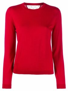 RedValentino long sleeve knitted top