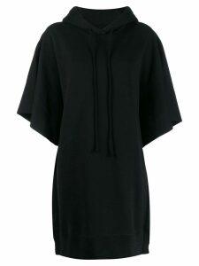 Mm6 Maison Margiela care label oversized sweatshirt - Black
