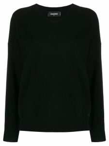 Dsquared2 v-neck sweater - Black