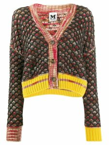 M Missoni chunky knit cardigan - Black