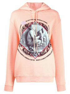 McQ Alexander McQueen Electronic Vibrations hoodie - Pink
