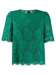 Dolce & Gabbana lace top - Green