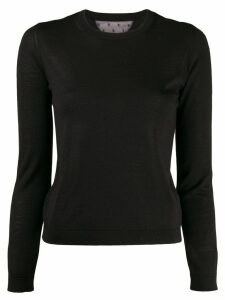 RedValentino knitted jumper - Black