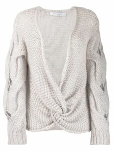 Iro Waka knit sweater - Grey