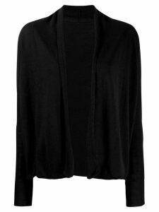Sottomettimi open front cardigan - Black