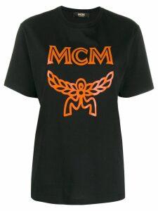 MCM logo print T-shirt - Black