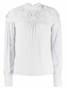See By Chloé round neck blouse - Grey