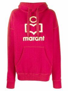 Isabel Marant Étoile kangaroo pocket hoodie - PINK