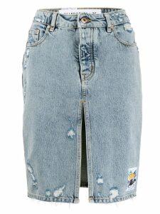 Filles A Papa Cristina skirt - Blue