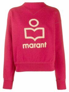 Isabel Marant Étoile textured detail sweatshirt - PINK