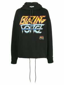 McQ Alexander McQueen 'Blazing Force' hooded sweatshirt - Black