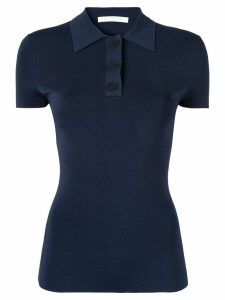 Dion Lee Density polo shirt - Blue
