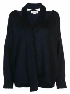 Monse deconstructed sweater - Blue