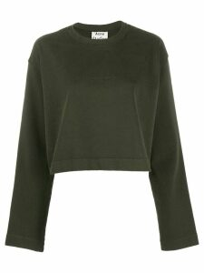 Acne Studios Odice Emboss sweatshirt - Green