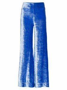 Deitas Venus velvet trousers - Blue