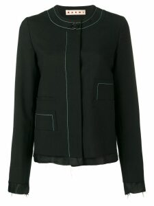 Marni unfinished jacket - Black