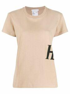 Helmut Lang logo printed T-shirt - NEUTRALS