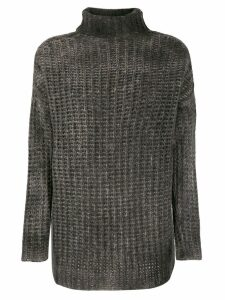 Avant Toi corn knit jumper - Brown