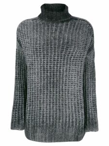 Avant Toi corn stitch sweater - Grey