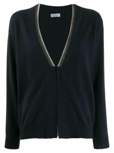 Brunello Cucinelli V-neck cardigan - Blue