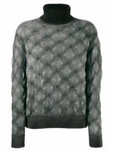 Avant Toi high neck sweater - Grey