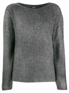 Avant Toi ribbed stitch sweater - Grey