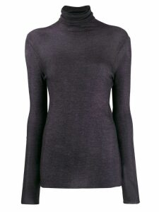 Avant Toi turtle neck top - Purple