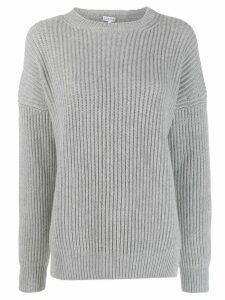 Loewe ribbed knit jumper - Grey