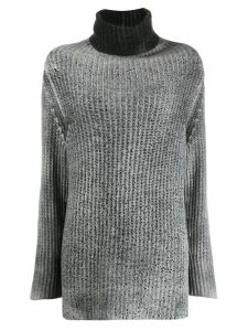 Avant Toi ribbed stitch pullover - Grey