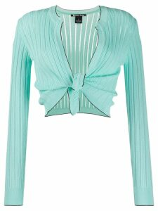 Pinko knot detail cardigan - Green