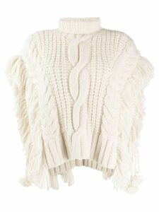 Ulla Johnson chunky knit top - NEUTRALS