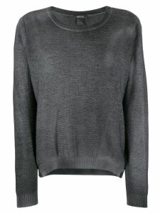Avant Toi round neck pullover - Black
