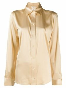 Bottega Veneta collared shirt - NEUTRALS