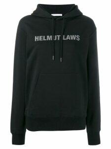 Helmut Lang logo sweatshirt - Black