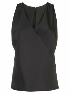 Peter Cohen V-neck blouse - Black