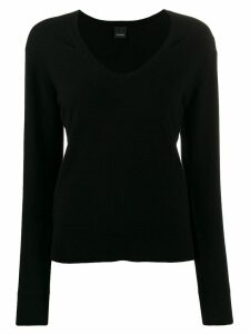 Pinko long sleeved pullover - Black