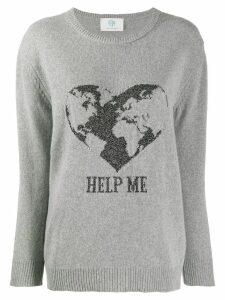 Alberta Ferretti Help Me jumper - Grey