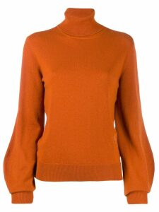 Chloé roll neck jumper - Brown