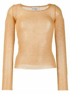 Forte Forte fine knit jumper - Yellow