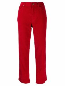 Marc Jacobs corduroy jeans - Red