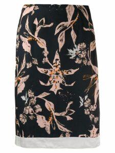 Dorothee Schumacher short floral skirt - Black