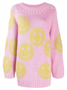 Marc Jacobs smiley jumper - PINK