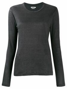 Isabel Marant Étoile long-sleeve linen top - Grey