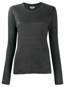 Isabel Marant Étoile long-sleeve linen top - Grey